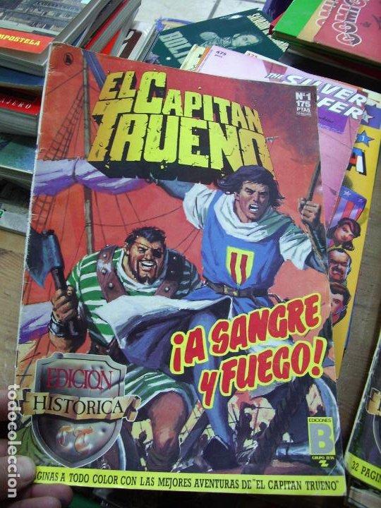 EL CAPITÁN TRUENO, ¡A SANGRE Y FUEGO!, Nº 1 175. CO-57 (Libros de Segunda Mano - Literatura Infantil y Juvenil - Otros)