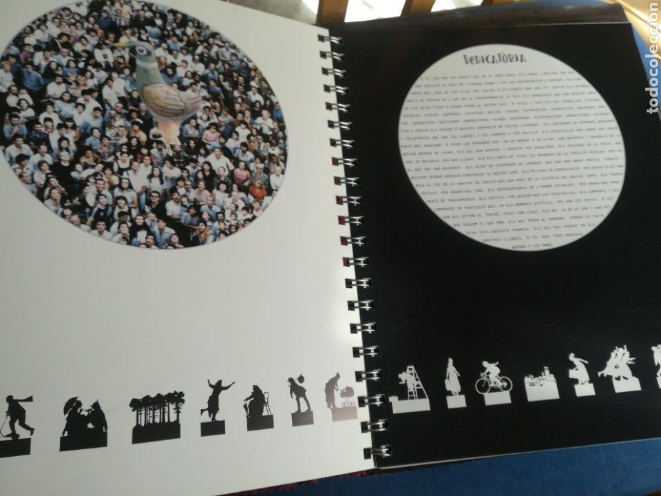 Libros de segunda mano: Comediantes agenda perpetua Instituto del teatro Primera edición 27x22 ilustraciones - Foto 2 - 195369487