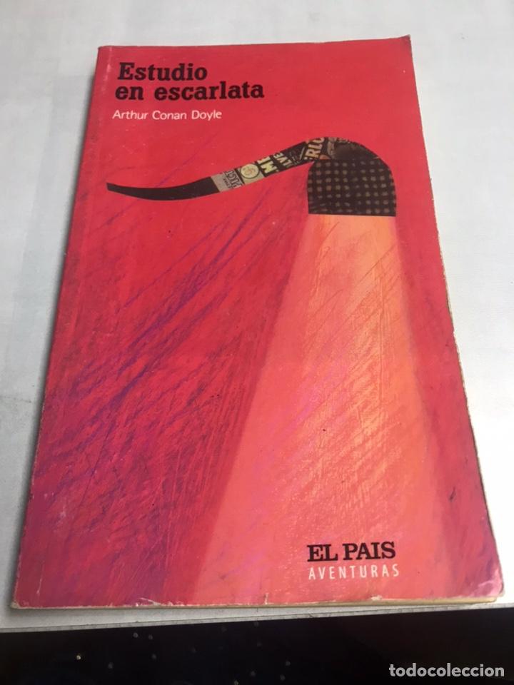 LIBRO - ESTUDIO EN ESCARLATA - ARTHUR DOYLE (Libros de Segunda Mano (posteriores a 1936) - Literatura - Otros)