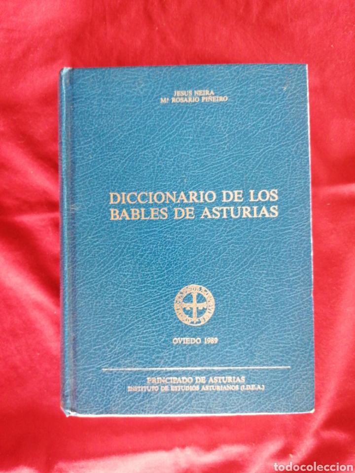 DICCIONARIO DE LOS BABLES DE ASTURIAS. JESUS NEIRA. MARIA ROSARIO PIÑEIRO (Libros de Segunda Mano (posteriores a 1936) - Literatura - Otros)