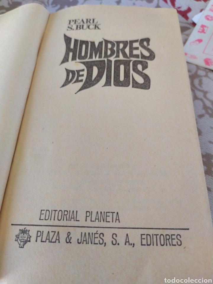 Libros de segunda mano: Hombres de dios - Foto 3 - 195372601