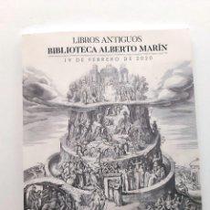 Libros de segunda mano: SOLER Y LLACH - CATALOGO SUBASTA BIBLIOTECA ALBERTO MARIN - 19 FEBRERO DE 2020. Lote 195375906