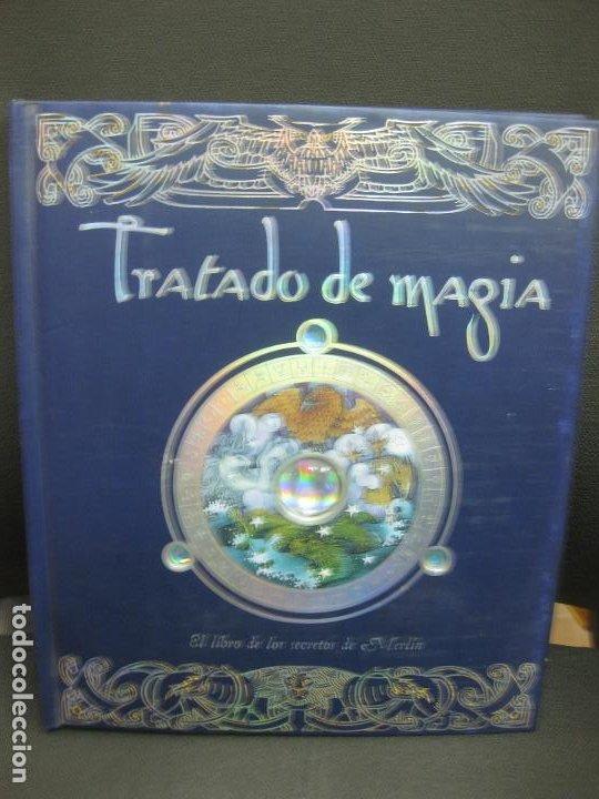 TRATADO DE MAGIA. EL LIBRO DE LOS SECRETOS DE MERLIN.EDITORIAL MONTENA. (Libros de Segunda Mano - Literatura Infantil y Juvenil - Otros)