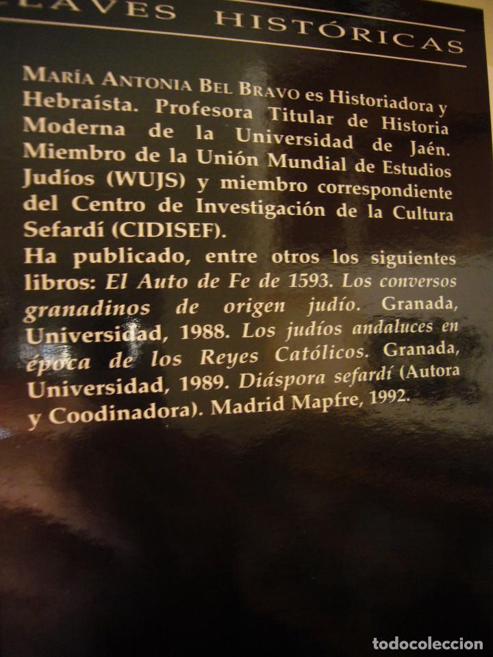 Libros de segunda mano: SEFARAD. LOS JUDÍOS DE ESPAÑA (SÍLEX, 1997) MARÍA ANTONIA BEL BRAVO. EXCELENTE ESTADO. - Foto 4 - 195376855