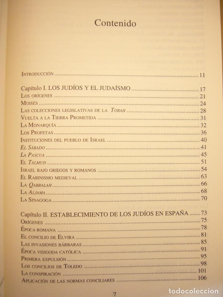 Libros de segunda mano: SEFARAD. LOS JUDÍOS DE ESPAÑA (SÍLEX, 1997) MARÍA ANTONIA BEL BRAVO. EXCELENTE ESTADO. - Foto 6 - 195376855