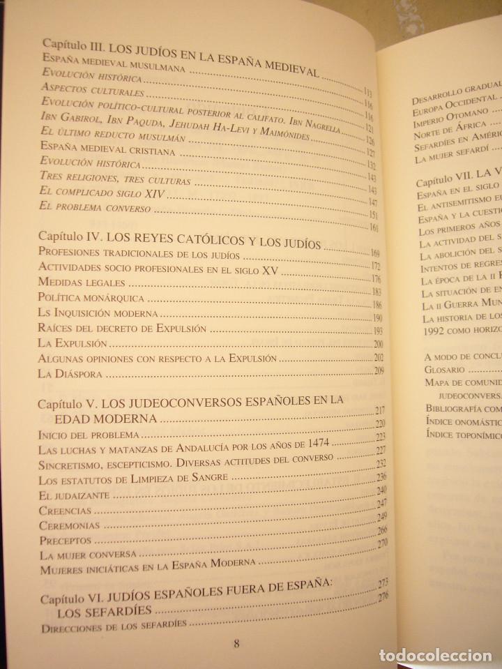 Libros de segunda mano: SEFARAD. LOS JUDÍOS DE ESPAÑA (SÍLEX, 1997) MARÍA ANTONIA BEL BRAVO. EXCELENTE ESTADO. - Foto 7 - 195376855