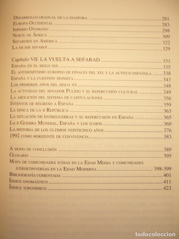 Libros de segunda mano: SEFARAD. LOS JUDÍOS DE ESPAÑA (SÍLEX, 1997) MARÍA ANTONIA BEL BRAVO. EXCELENTE ESTADO. - Foto 8 - 195376855