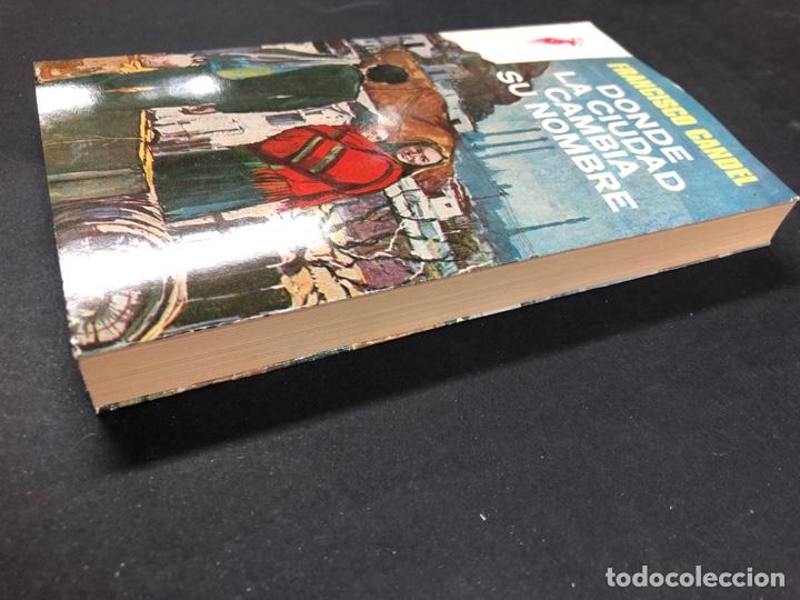 Libros de segunda mano: DONDE LA CIUDAD CAMBIA SU NOMBRE - FRANCISCO CANDEL - Nº 234 RENO 1ª ED. 1976 - NUEVO DE DISTRI. - Foto 2 - 195380626