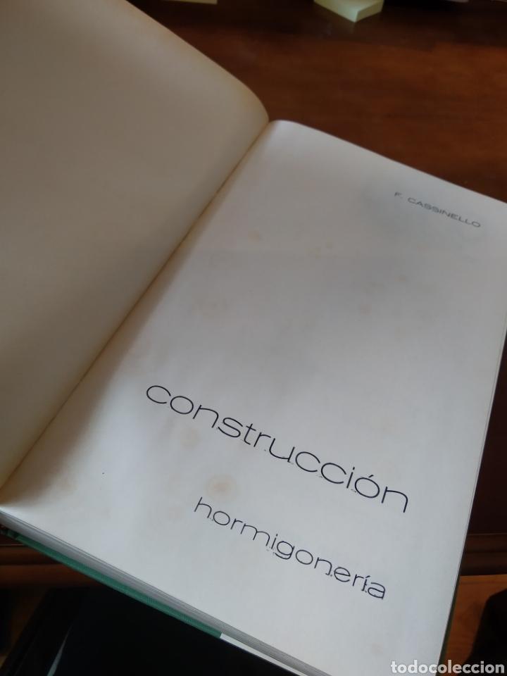 Libros de segunda mano: CONSTRUCCIÓN. HORMIGONERIA. FERNANDO CASSINELLO PÉREZ - Foto 4 - 195382060