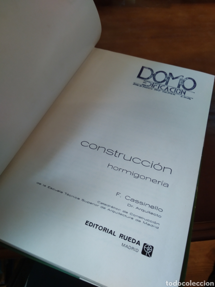 Libros de segunda mano: CONSTRUCCIÓN. HORMIGONERIA. FERNANDO CASSINELLO PÉREZ - Foto 5 - 195382060
