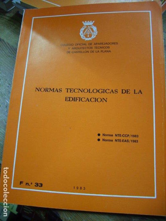 NORMAS TECNOLÓGICAS DE LA EDIFICACIÓN 1983. L.36-17 (Libros de Segunda Mano - Ciencias, Manuales y Oficios - Otros)