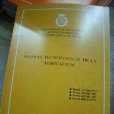 Libros de segunda mano: NORMAS TECNOLÓGICAS DE LA EDIFICACIÓN 1973. L.36-18. Lote 195383076