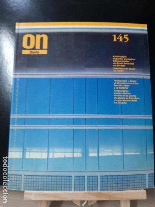 REVISTA ON 145 ARQUITECTURA ARTE CONSTRUCCIÓN TECNOLOGÍA AMBIENTAL TENDENCIAS (Libros de Segunda Mano - Bellas artes, ocio y coleccionismo - Otros)
