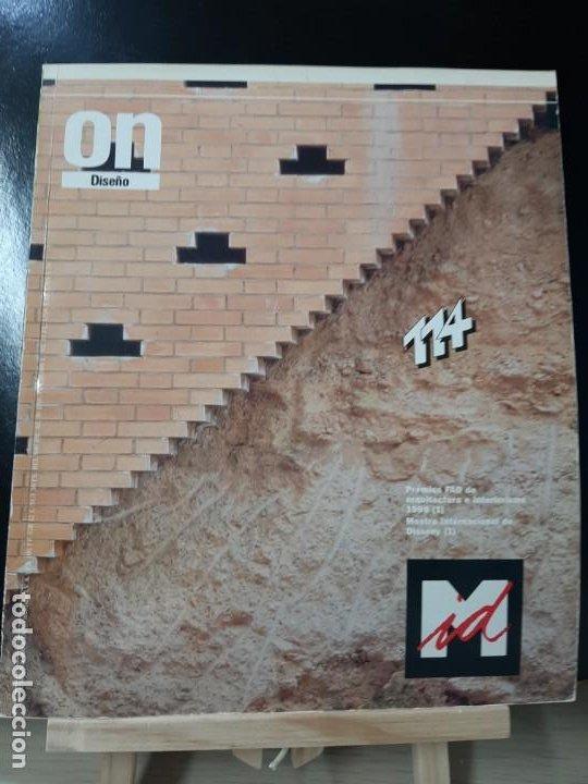 REVISTA ON 114 ARQUITECTURA ARTE CONSTRUCCIÓN TECNOLOGÍA AMBIENTAL TENDENCIAS (Libros de Segunda Mano - Bellas artes, ocio y coleccionismo - Otros)