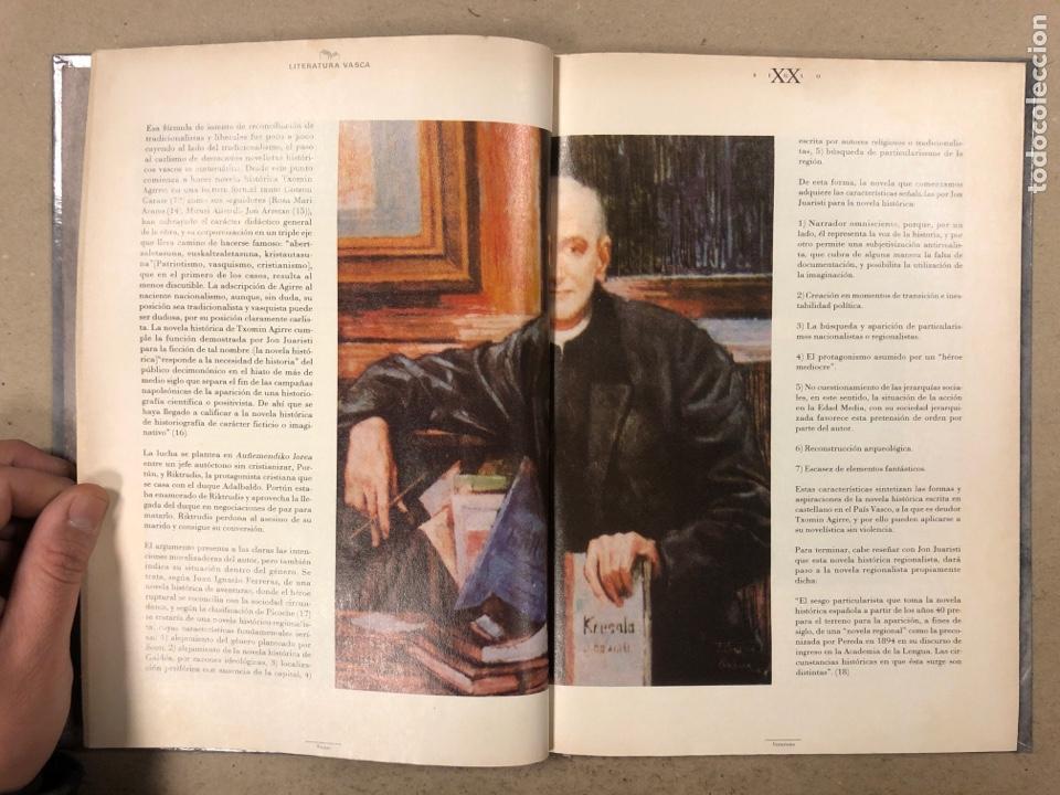 Libros de segunda mano: LITERATURA VASCA SIGLO XX. COLECCIONABLE DEL DIARIO DEIA ENCUADERNADO EN TAPA DURA. JON KORTAZAR - Foto 4 - 195384147