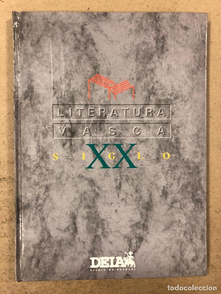 LITERATURA VASCA SIGLO XX. COLECCIONABLE DEL DIARIO DEIA ENCUADERNADO EN TAPA DURA. JON KORTAZAR (Libros de Segunda Mano (posteriores a 1936) - Literatura - Otros)