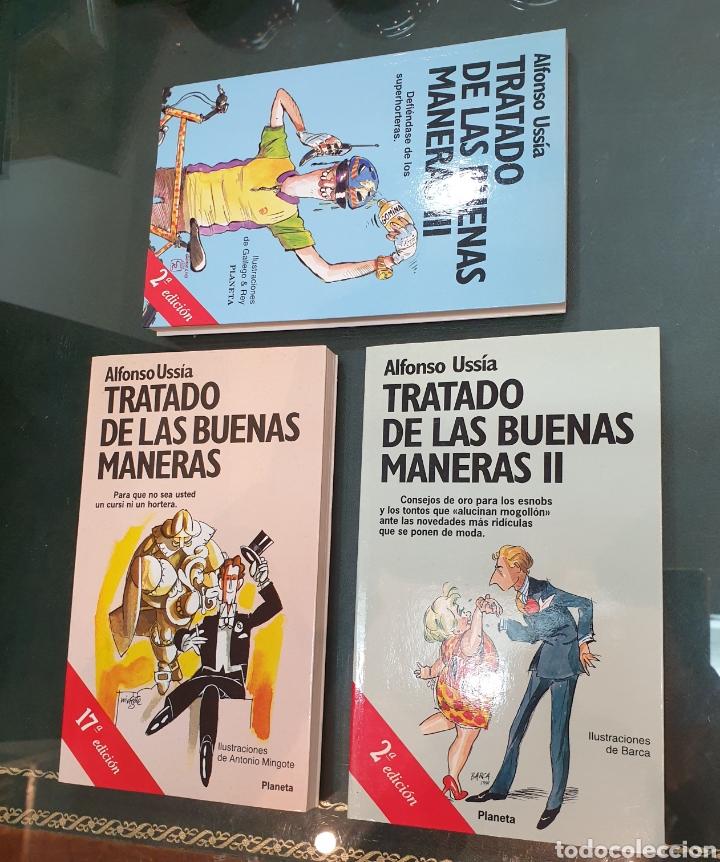 Libros de segunda mano: Trilogía tratado de las buenas maneras. Ussía firmados - Foto 3 - 195384733