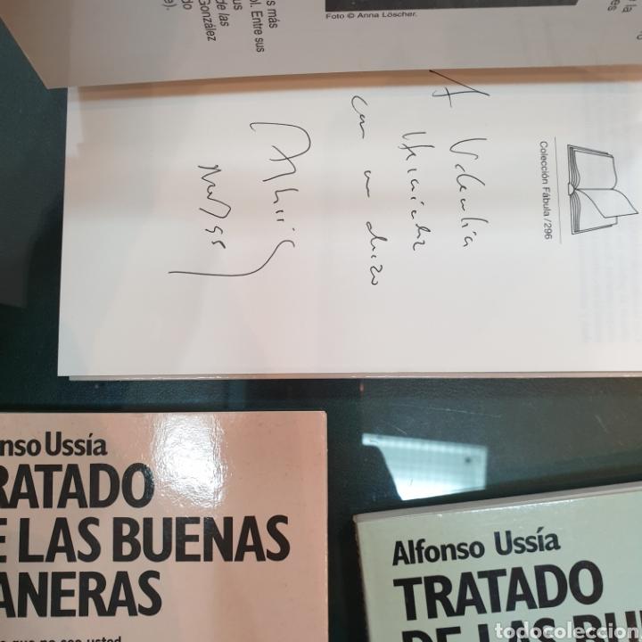 Libros de segunda mano: Trilogía tratado de las buenas maneras. Ussía firmados - Foto 6 - 195384733
