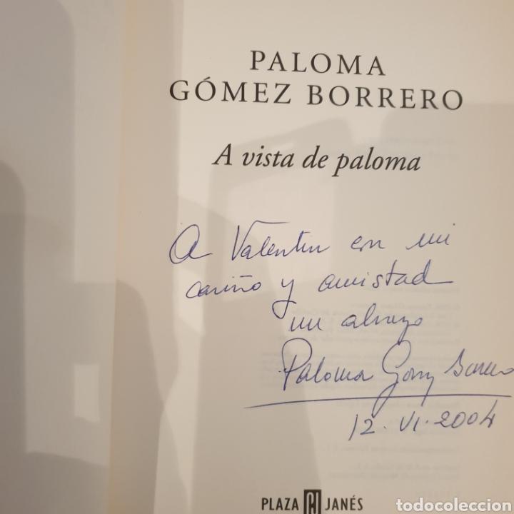 Libros de segunda mano: 2 libros paloma Gómez Borrero firmados y dedicados - Foto 2 - 195385425