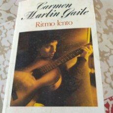 Libros de segunda mano: RITMO LENTO. Lote 195385455