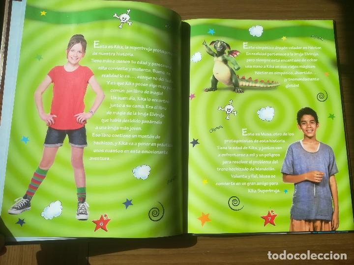 Libros de segunda mano: KIKA SUPERBRUJA Y EL VIAJE A MANDOLAN EL ALBUM DE LA PELICULA EDITORIAL BRUÑO 2011 - Foto 2 - 195385705