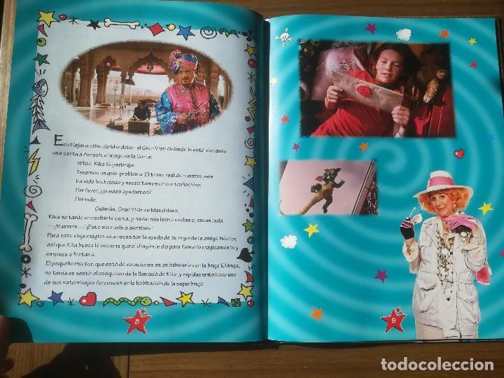 Libros de segunda mano: KIKA SUPERBRUJA Y EL VIAJE A MANDOLAN EL ALBUM DE LA PELICULA EDITORIAL BRUÑO 2011 - Foto 3 - 195385705