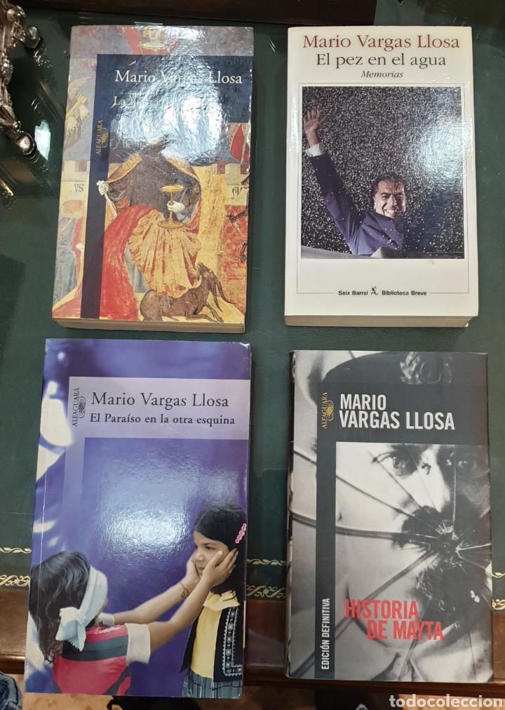 4 LIBROS FIRMADOS VARGAS LLOSA. DEDICADOS POR EL AUTOR (Libros de Segunda Mano (posteriores a 1936) - Literatura - Otros)