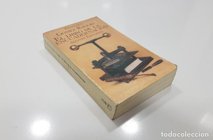 EL LIBRO DE LA ENCUADERNACIÓN. FRANCISCO GÓMEZ RAGGIO. 1996. ILUSTRADO (Libros de Segunda Mano - Bellas artes, ocio y coleccionismo - Otros)