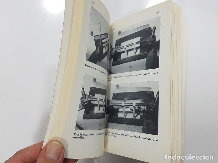 Libros de segunda mano: EL LIBRO DE LA ENCUADERNACIÓN. Francisco Gómez Raggio. 1996. Ilustrado - Foto 4 - 195388805