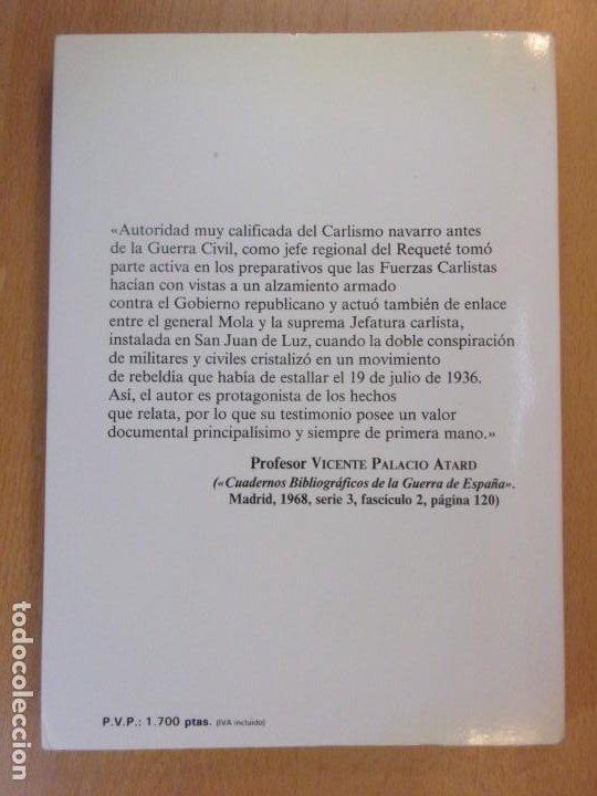 Libros de segunda mano: MEMORIAS DE LA CONSPIRACIÓN (1931-1936) / ANTONIO DE LIZARZA / 5ª EDICIÓN 1986. EDICIONES DYRSA - Foto 3 - 195390117