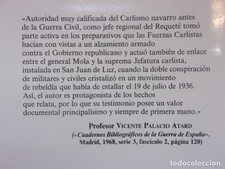 Libros de segunda mano: MEMORIAS DE LA CONSPIRACIÓN (1931-1936) / ANTONIO DE LIZARZA / 5ª EDICIÓN 1986. EDICIONES DYRSA - Foto 4 - 195390117