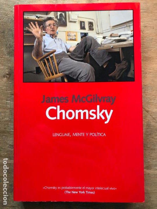 CHOMSKY. LENGUAJE, MENTE Y POLÍTICA. JAMES MCGILVRAY. (Libros de Segunda Mano - Pensamiento - Otros)
