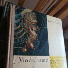 Libros de segunda mano: MODELISMO NAVAL JULIO O GUILLEN DONCEL PRIMERA EDICIÓN 1963. Lote 195394086