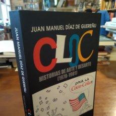 Libros de segunda mano: CLOC. HISTORIA DE ARTE Y DESARTE. HIPERION JUAN MANUEL DIAZ GUEREÑU. Lote 195407280