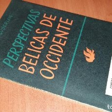 Libros de segunda mano: PERSPECTIVAS BELICAS DE OCCIDENTE, HEINZ GUDERIAN, MADRID 1952. Lote 195414755