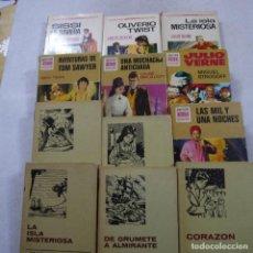Libros de segunda mano: LOTE 12 LIBROS DE BRUGUERA. COLECCION HISTORIAS DE SELECCION. Lote 195415831