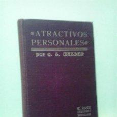 Libros de segunda mano: LMV - ATRACTIVOS PERSONALES. O. S. MARDEN. Lote 195415998