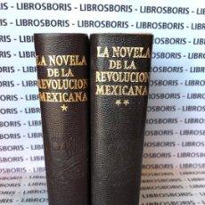 Libros de segunda mano: LA NOVELA DE LA REVOLUCION MEXICANA - 2 TOMOS - AGUILAR . OBRAS ETERNAS. Lote 195422755