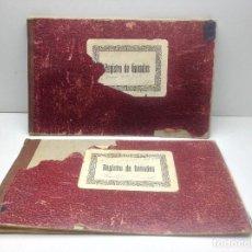 Libros de segunda mano: LIBRO DE REGISTRO DE GANADO - AYUNTAMIENTO DE SON DEL PINO - SON -VALENCIA DE ANEU - LERIDA. Lote 195424496