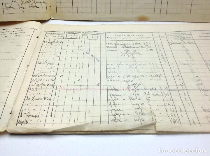 Libros de segunda mano: LIBRO DE REGISTRO DE GANADO - AYUNTAMIENTO DE SON DEL PINO - SON -VALENCIA DE ANEU - LERIDA - Foto 7 - 195424496