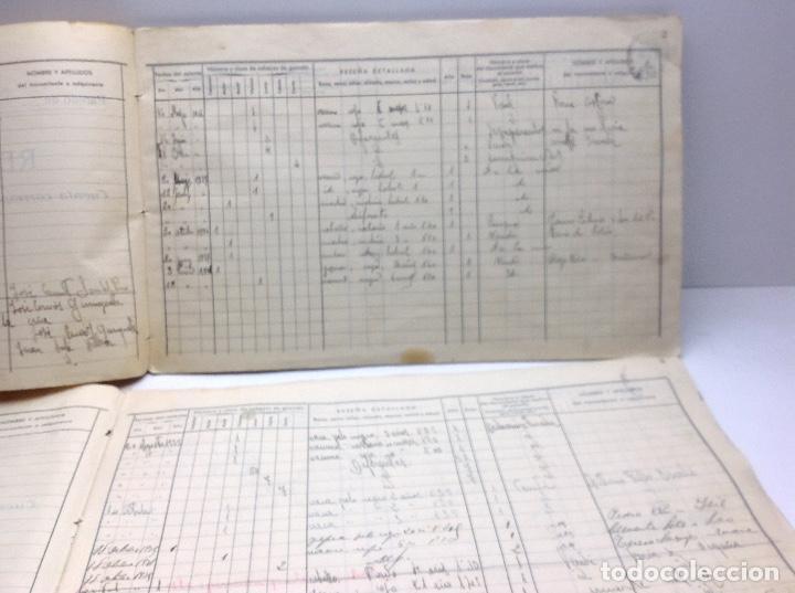 Libros de segunda mano: LIBRO DE REGISTRO DE GANADO - AYUNTAMIENTO DE SON DEL PINO - SON -VALENCIA DE ANEU - LERIDA - Foto 10 - 195424496