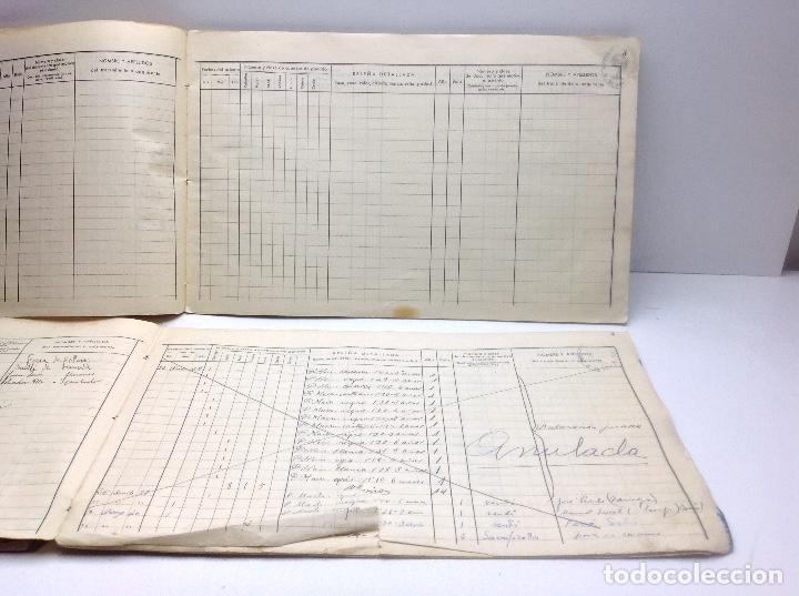 Libros de segunda mano: LIBRO DE REGISTRO DE GANADO - AYUNTAMIENTO DE SON DEL PINO - SON -VALENCIA DE ANEU - LERIDA - Foto 12 - 195424496