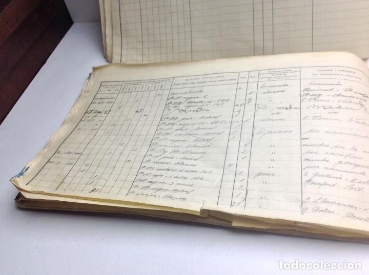 Libros de segunda mano: LIBRO DE REGISTRO DE GANADO - AYUNTAMIENTO DE SON DEL PINO - SON -VALENCIA DE ANEU - LERIDA - Foto 13 - 195424496