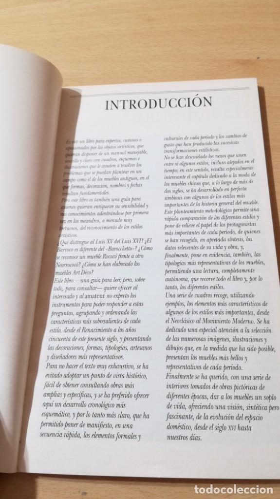 Libros de segunda mano: HISTORIA DEL MUEBLE I - GUIA PRACTICA PARA CONOCER LOS ESTILOS K403 - Foto 7 - 205861966