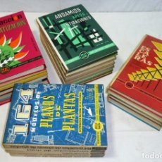 Libros de segunda mano: LOTE 21 LIBROS - MONOGRÁFICAS SOBRE CONSTRUCCION Y ARQUITECTURA ENCICLOPEDIA CEAC DE LA AÑOS 70.. Lote 195425368