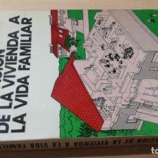 Libros de segunda mano: ADAPTACIÓN DE LA VIVIENDA A LA VIDA FAMILIAR - CLAUDE LAMURE - ED TECNICOS ASOCIADOS K504. Lote 195428288