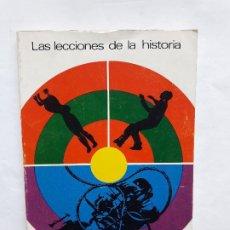 Libros de segunda mano: LAS LECCIONES DE LA HISTORIA. WILL Y ARIEL DURANT. EDITORIAL: EDITORIAL SUDAMERICANA. (1969).. Lote 195432122