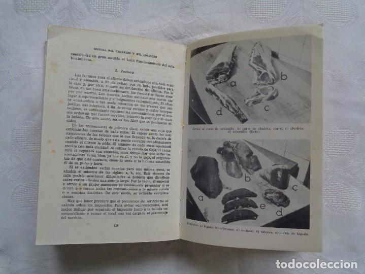 Libros de segunda mano: MAXIMILIAN WEBER Y ANNA C. HUBER. MANUAL DEL CAMARERO Y DEL COCINERO. 1964. 1ª EDICIÓN. - Foto 2 - 195435983