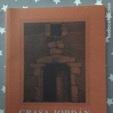 Libros de segunda mano: GRASA JORDAN, CUADERNO DE VIAJE, GRABADOS, 1972-2002. Lote 195437342