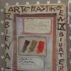 Libros de segunda mano: BIENAL ARTES PLASTICAS VITORIA GASTEIZ 1990 CATALOGO. Lote 195437958